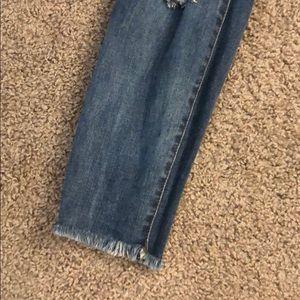 STS Blue Jeans - Raw hem distressed jeans